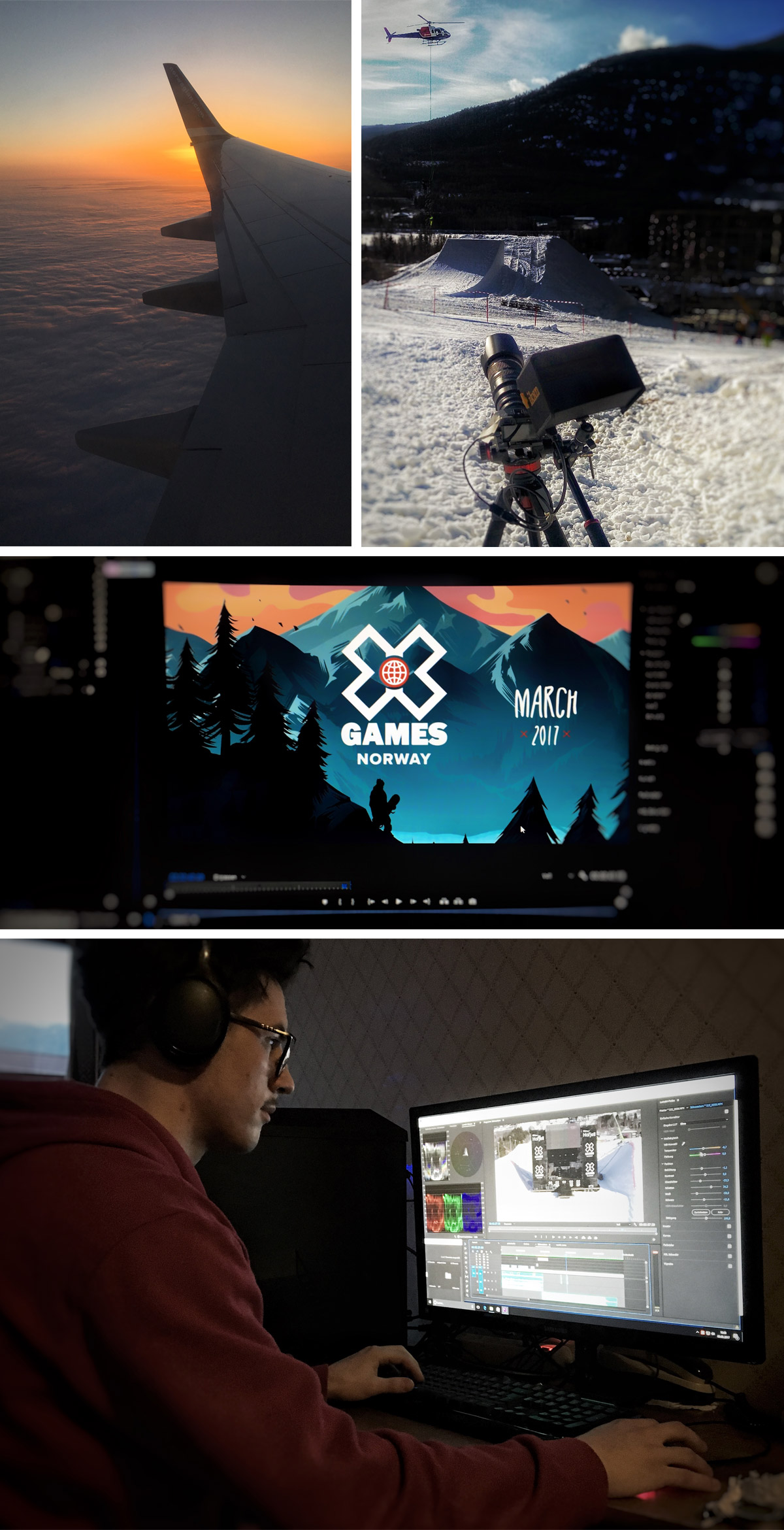 Eventvideo- X-Games Postproduction